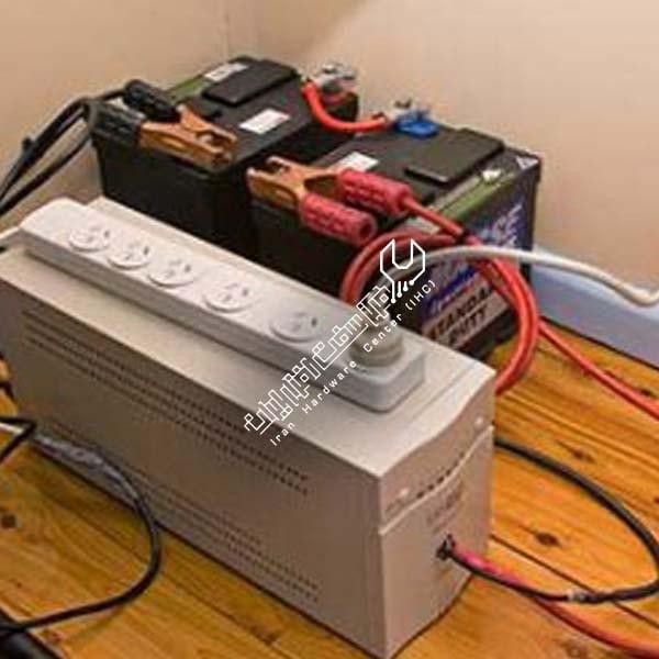 استفاده از باتری ماشین در ups